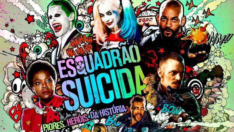 """""""ESQUADRÃO SUICIDA"""", """"STAR TREK – SEM FRONTEIRAS"""" E PRODUÇÕES DE TERROR"""